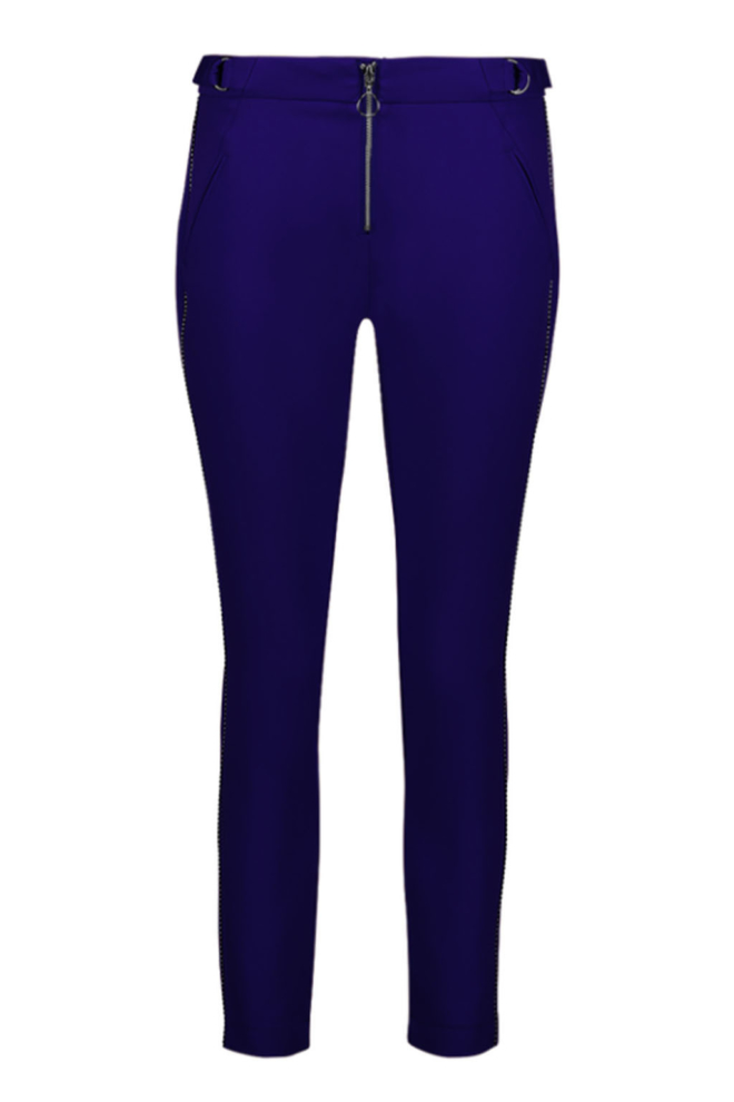 Aaiko sayo trouser deep purple - Aaiko