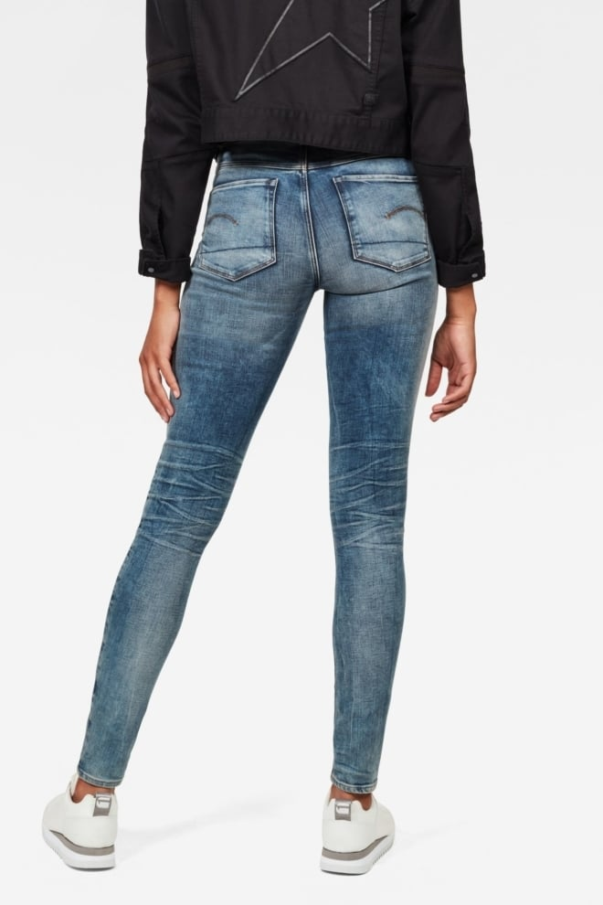 G-star raw 3301 deconstructed high waist skinny jeans - G-star Raw
