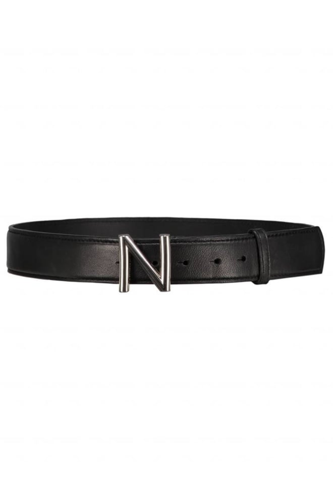 Nikkie logo hip belt black/nickel - Nikkie By Nikkie