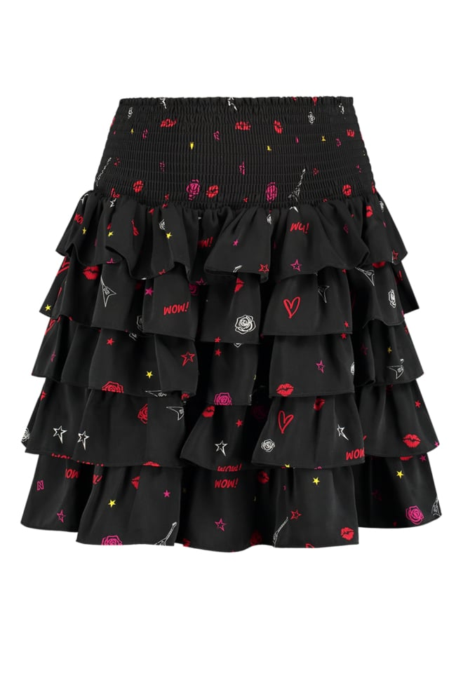 Nikkie rock layer skirt black - Nikkie By Nikkie
