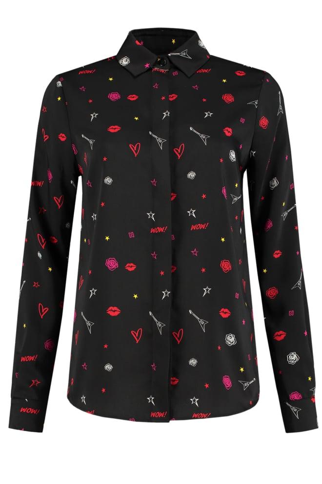 Nikkie rock blouse black - Nikkie By Nikkie
