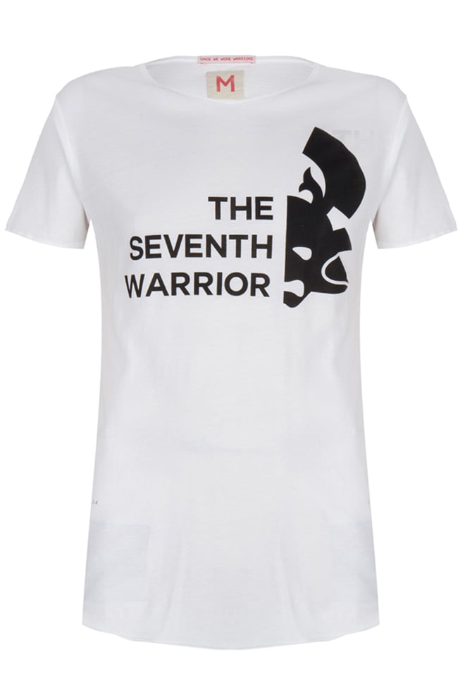 Once we were warriors menshi ss tee white - Once We Were Warriors