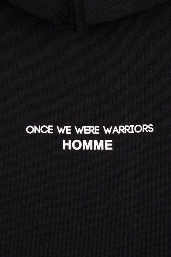 Once we were warriors mika hoodie black - Once We Were Warriors