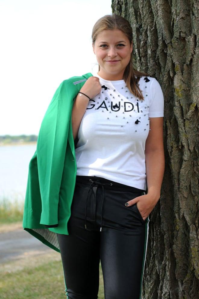 Gaudi t-shirt white - Gaudi