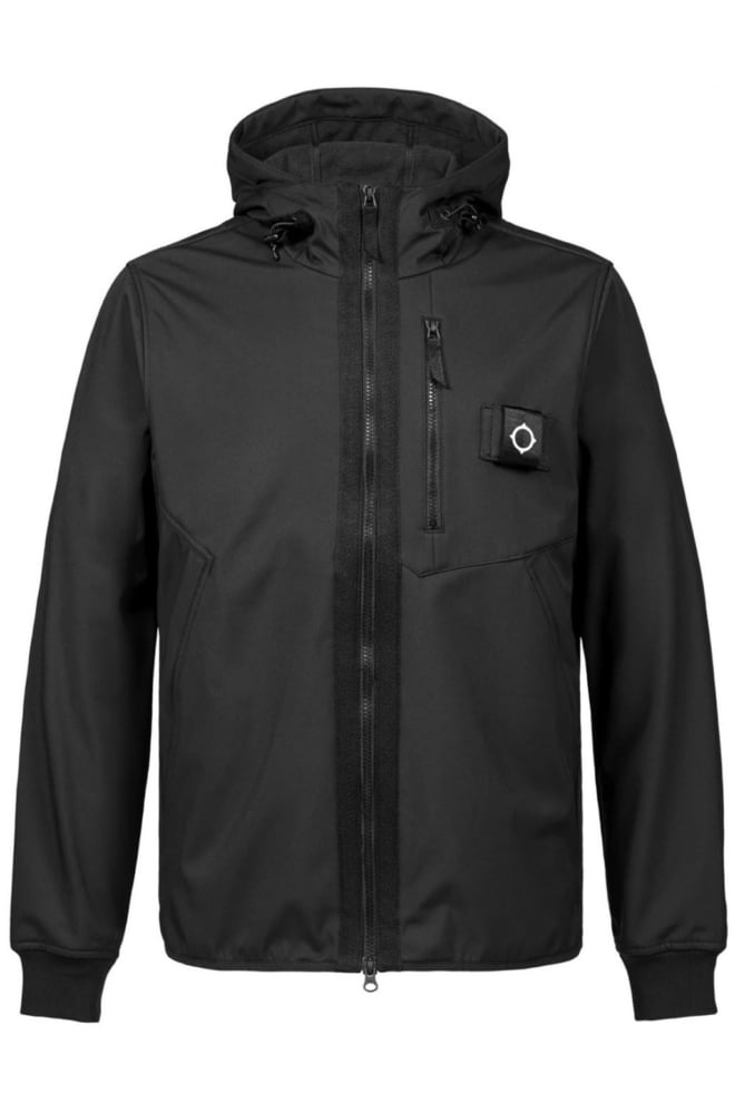 Mastrum titan soft shell jacket jet black - Mastrum