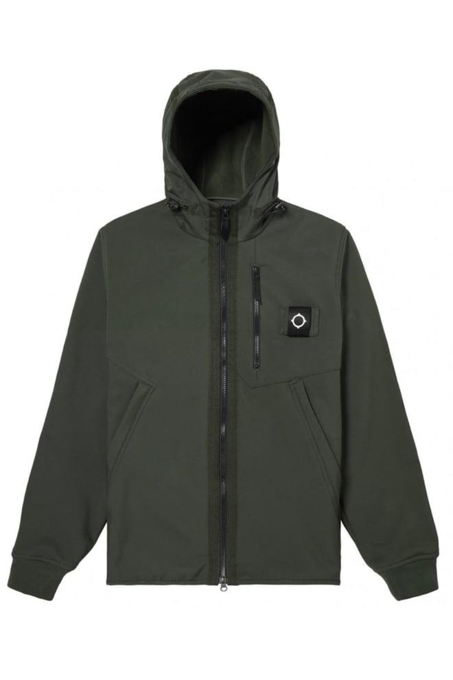 Mastrum titan soft shell jacket dark khaki green - Mastrum