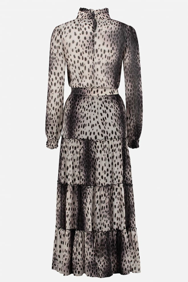 Fifth house ronni long dress bruin - Fifth House