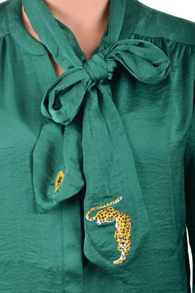 10 feet feminine blouse forest - 10 Feet