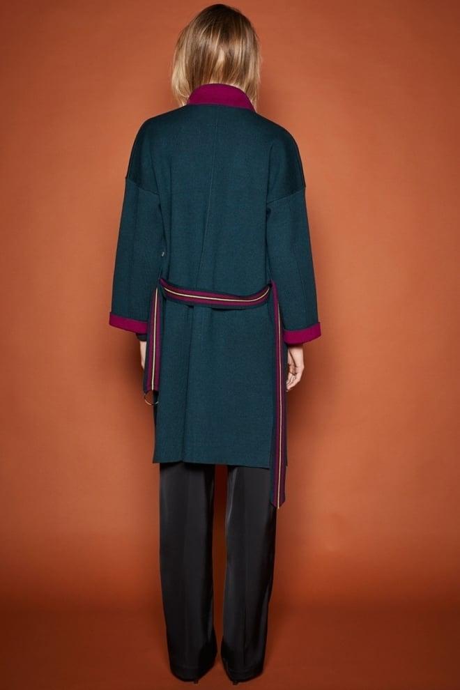 10 feet double knit vest dark petrol - 10 Feet
