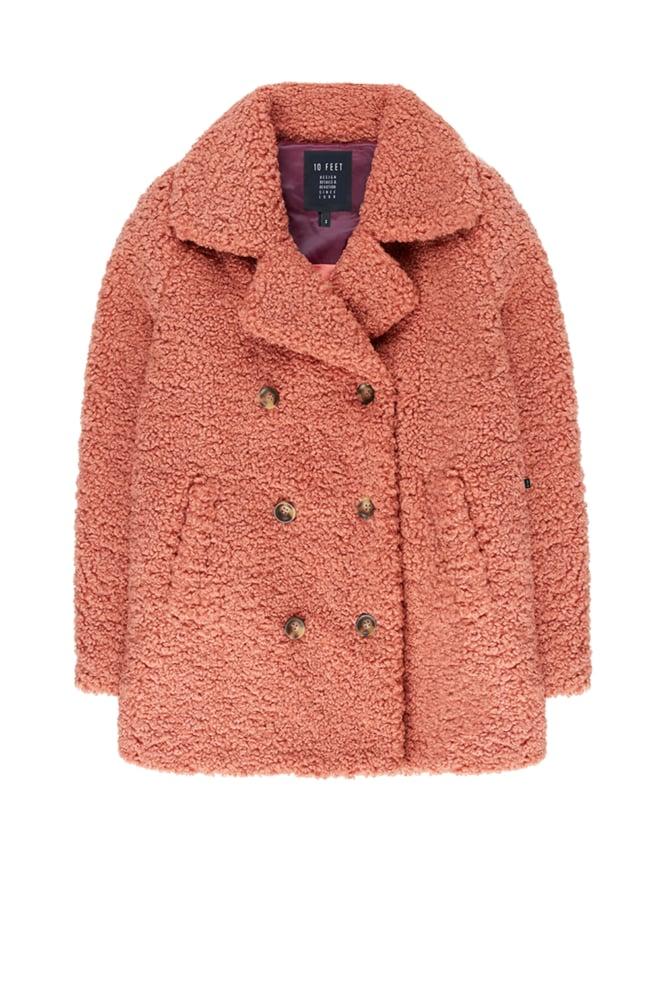 10 feet double breasted teddy coat - 10 Feet