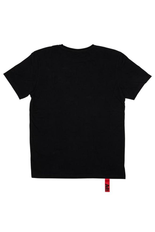 Ah6 jaill t-shirt zwart - Ah6