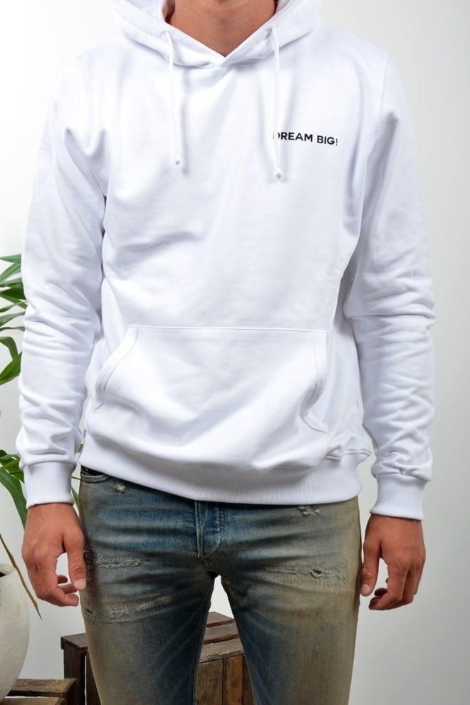 Ah6 hooded sweater wit - Ah6