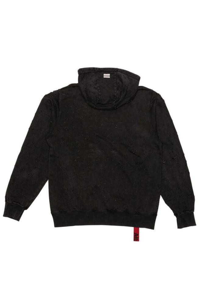 Ah6 destroy hood grey washed - Ah6