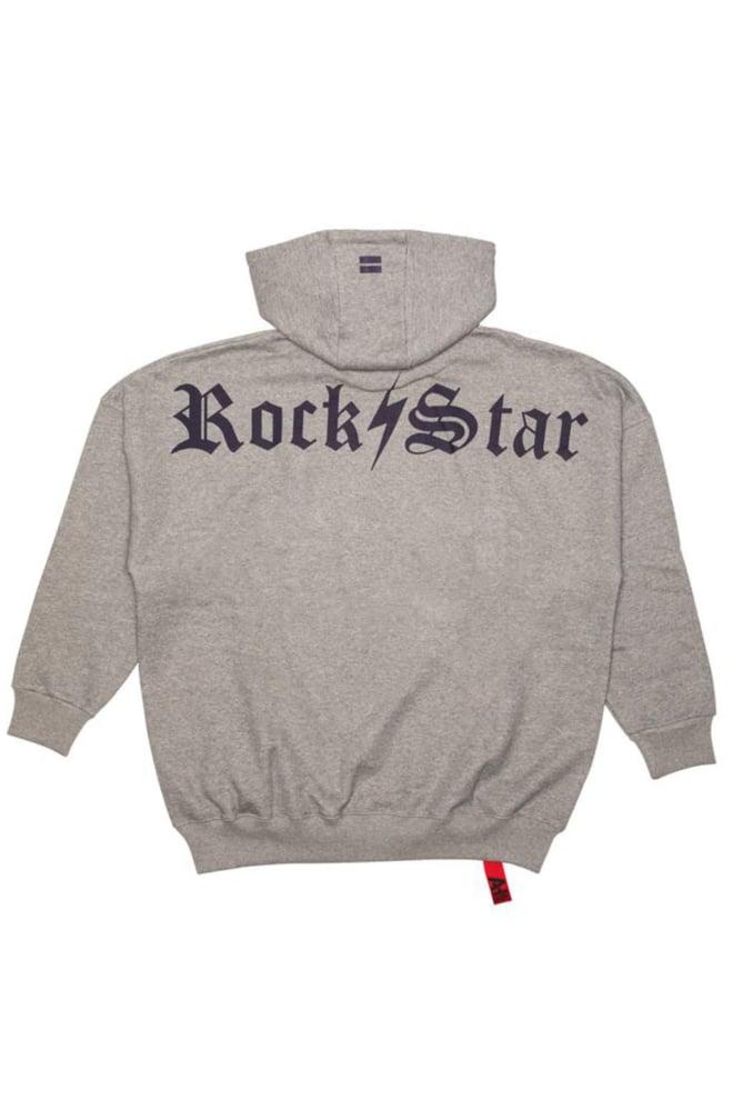 Ah6 rockstar hoodie grijs - Ah6