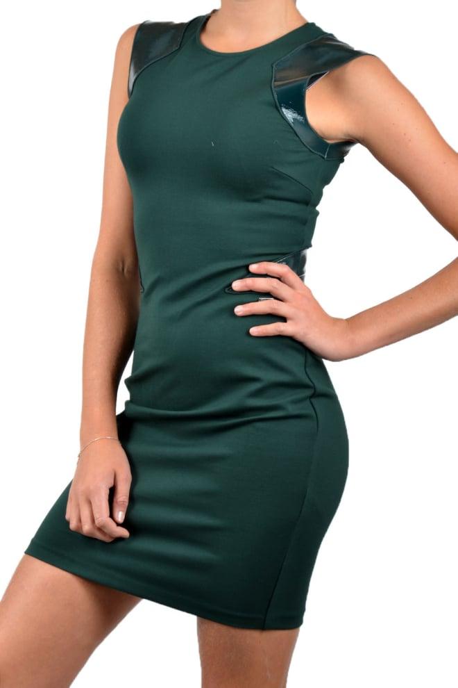 Armani woman jersey vestito grasshopper dress