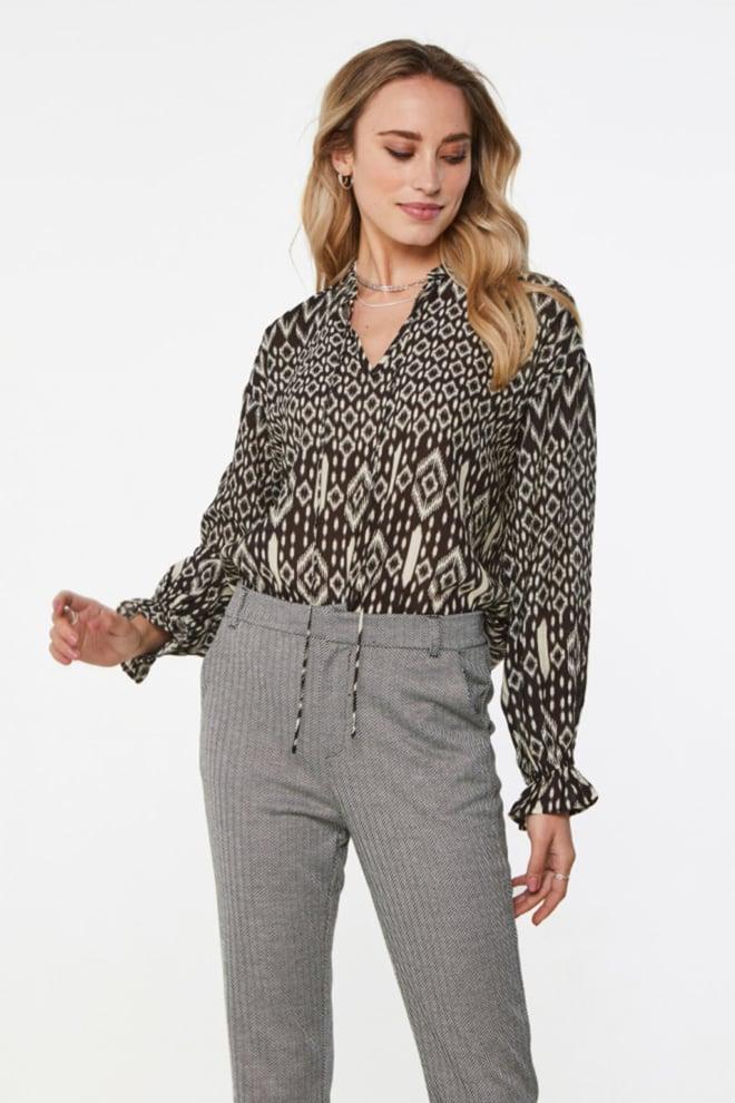 Aaiko marlie blouse zwart - Aaiko