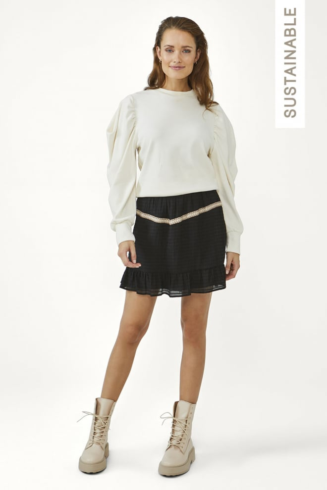 Aaiko sasha sweater cream - Aaiko