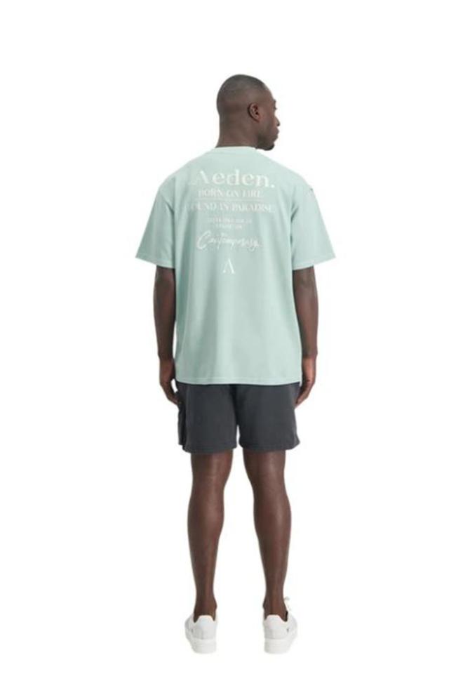 Aeden kay t-shirt green - Aeden
