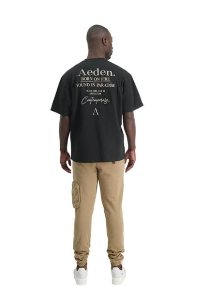 Aeden kay t-shirt zwart - Aeden