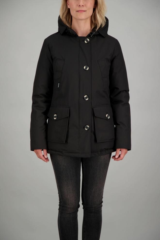 Airforce 4-pocket dames winterjas zwart - Airforce