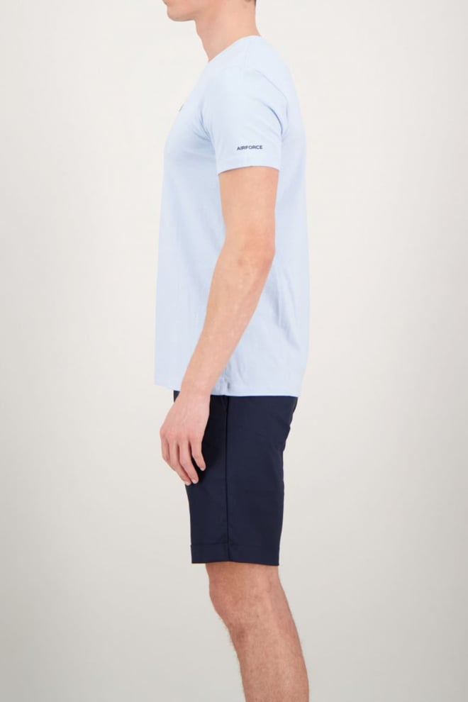 Airforce basic outline star t-shirt blauw - Airforce