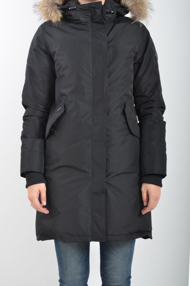 Airforce fishtail functional parka zwart - Airforce