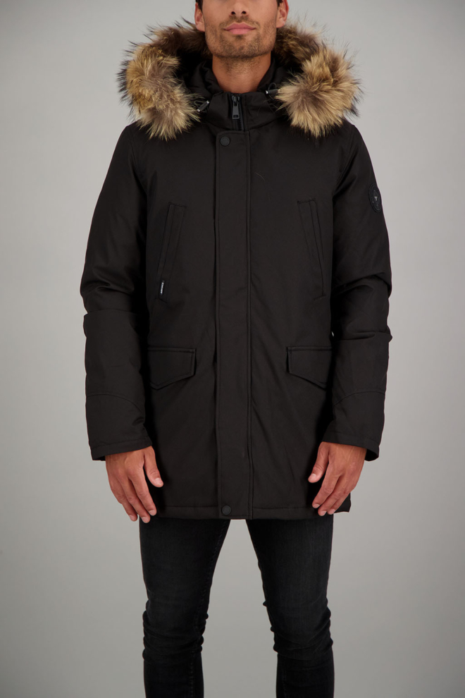 Airforce slimfit parka black - Airforce