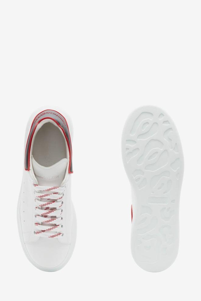 Alexander mcqueen oversized sneaker wit/rood - Alexander Mcqueen