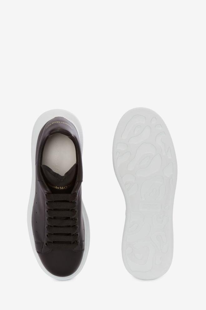 Alexander mcqueen oversized sneaker zwart/wit - Alexander Mcqueen