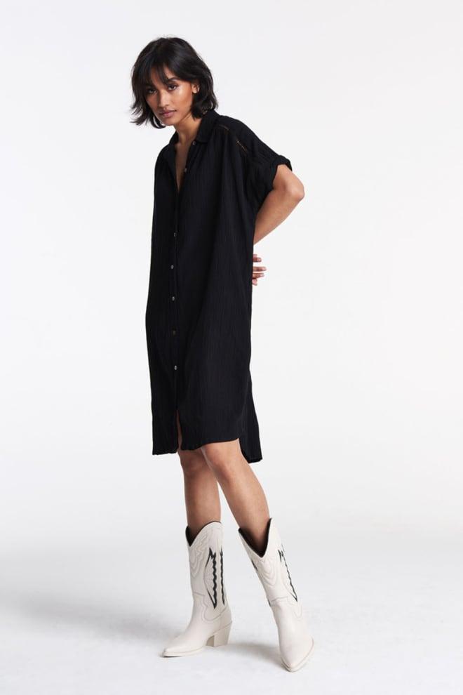 Alix the label tunic dress black - Alix The Label
