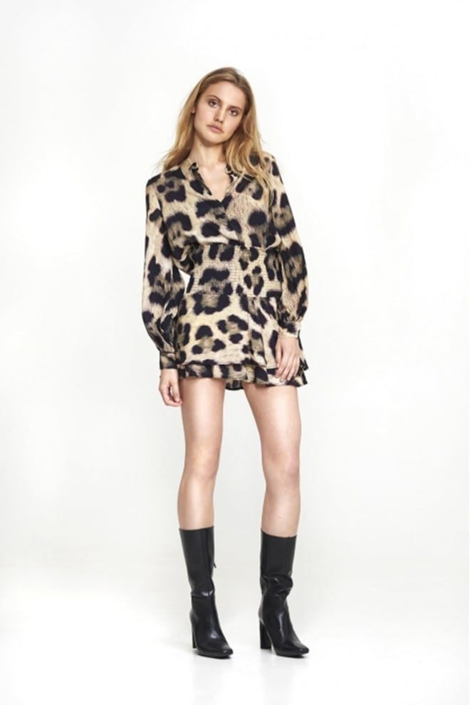 Alix the label animal skirt bruin - Alix The Label