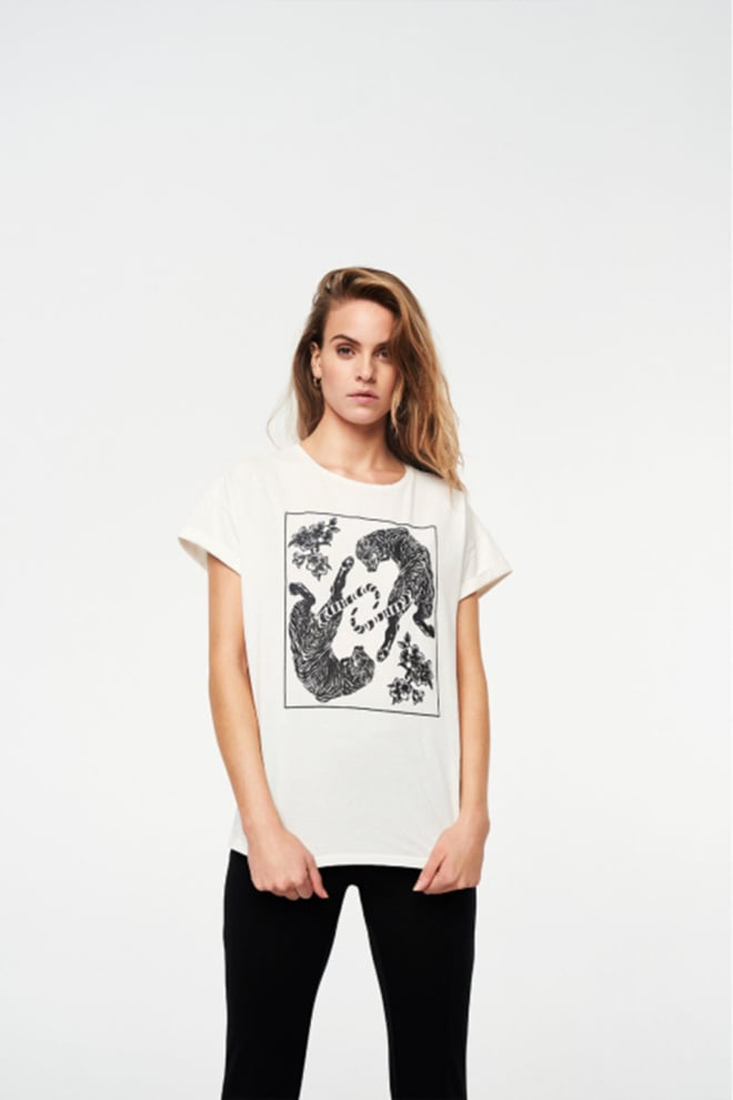 Alix the label tiger shirt wit - Alix The Label