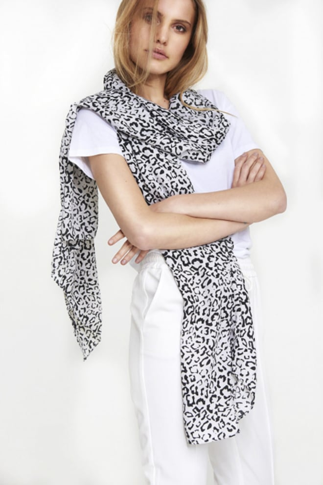 Alix the label graphic animal scarf wit - Alix The Label
