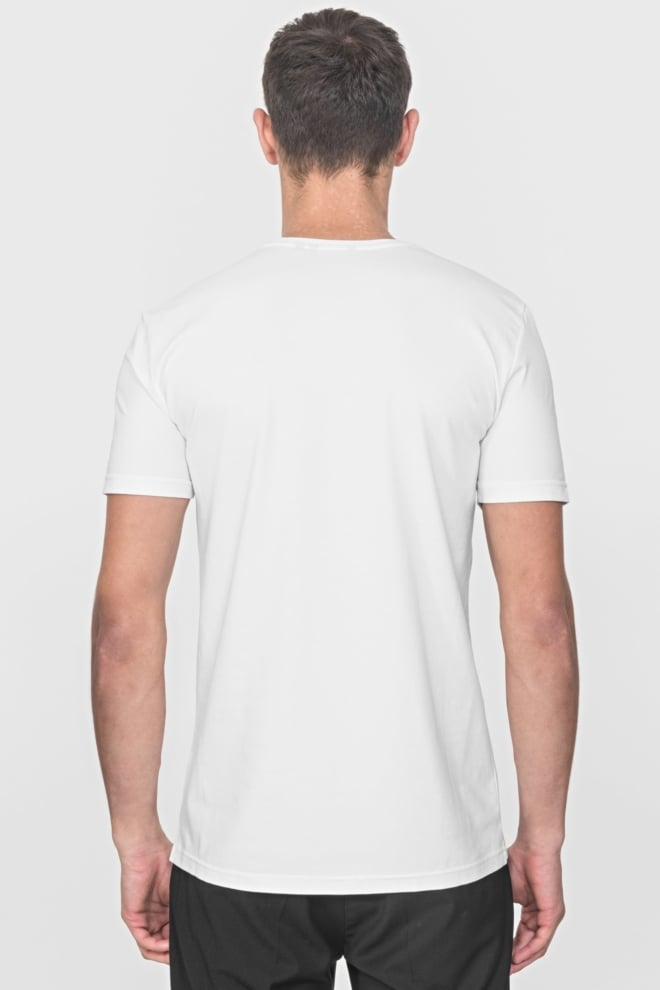 Antony morato slim-fit t-shirt wit - Antony Morato