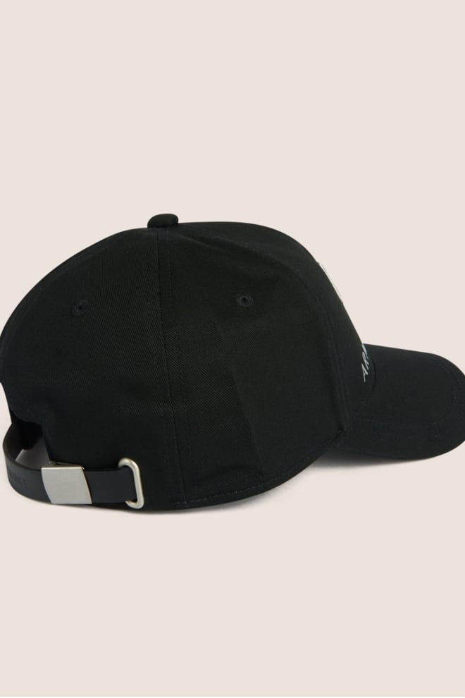Armani man woven cappello baseball cap nero - Armani Exchange
