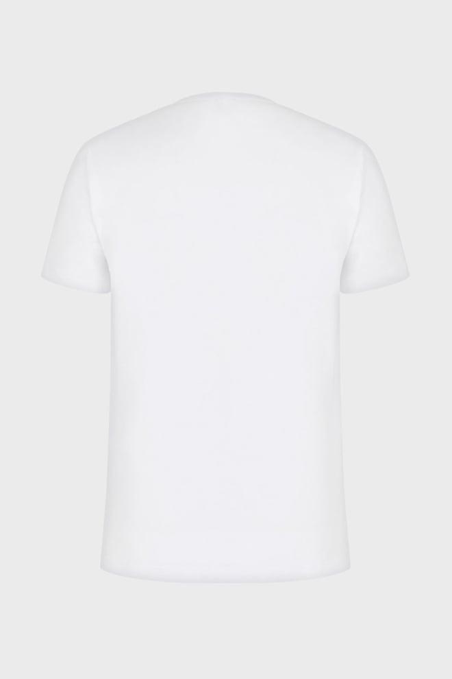 Armani ea7 oversized logo t-shirt wit - Armani Ea7
