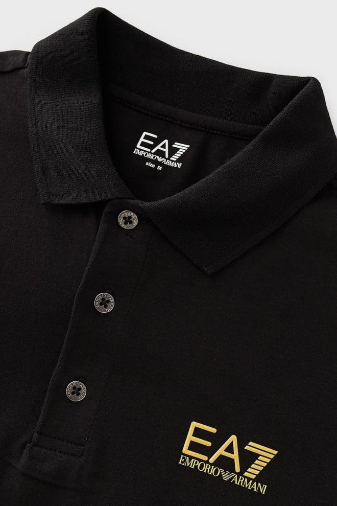 Armani ea7 poloshirt zwart - Armani Ea7