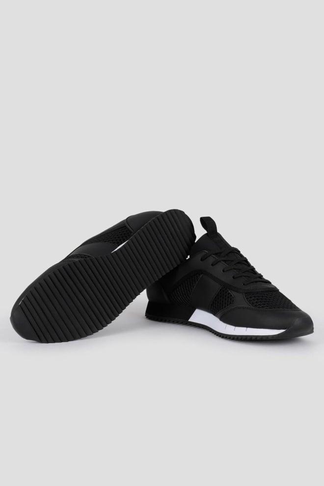 Armani ea7 woven sneaker black/white - Armani Ea7