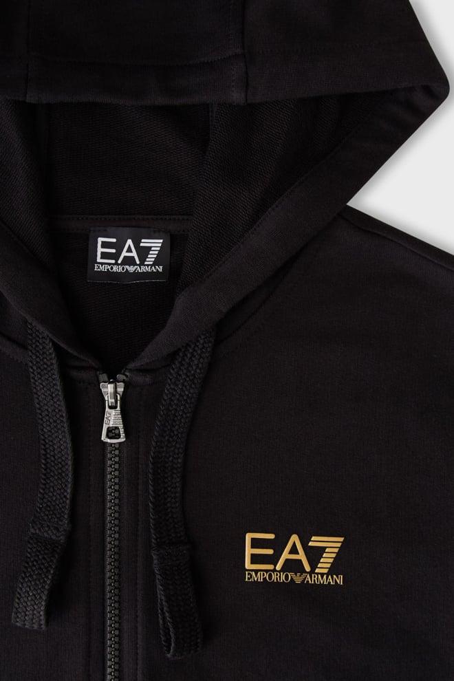 Armani ea7 zipped sweater zwart - Armani Ea7