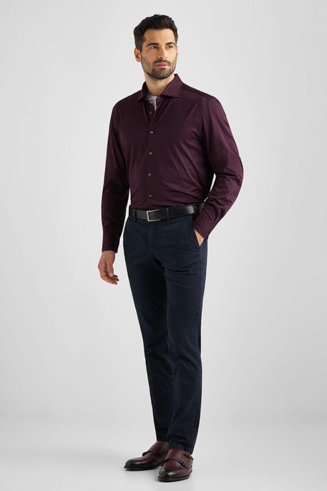 Baldessarini overhemd henri rood - Baldessarini