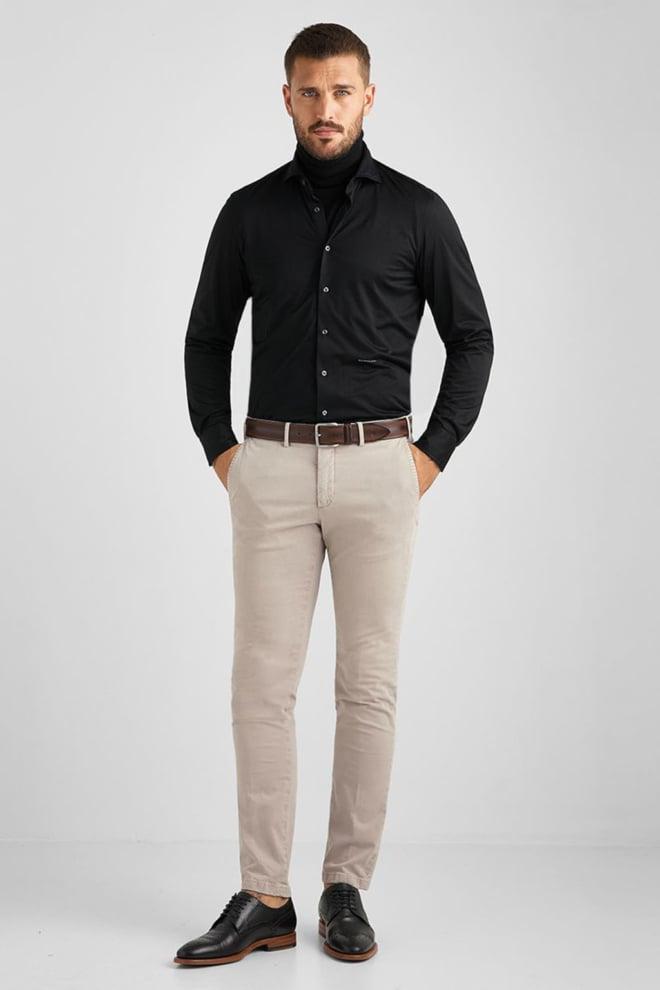 Baldessarini overhemd henri zwart - Baldessarini
