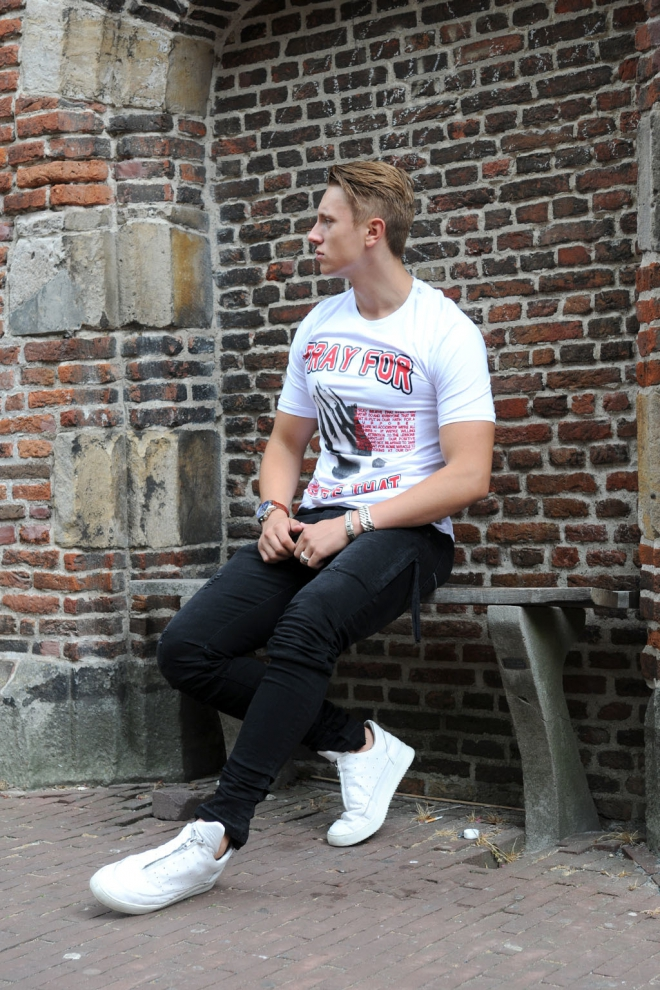Believe that 3000 t-shirt white - Believe That