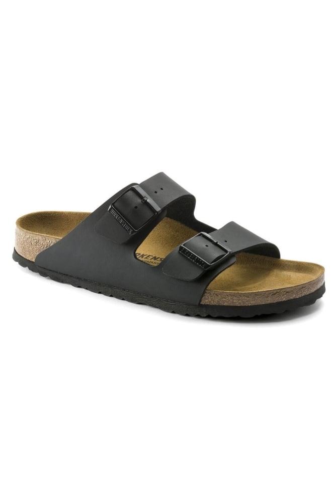 Birkenstock arizona sandalen smal zwart - Birkenstock