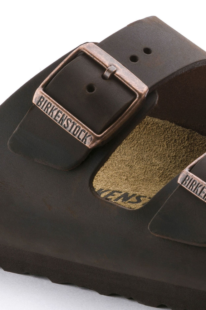 Birkenstock arizona sandalen donkerbruin - Birkenstock