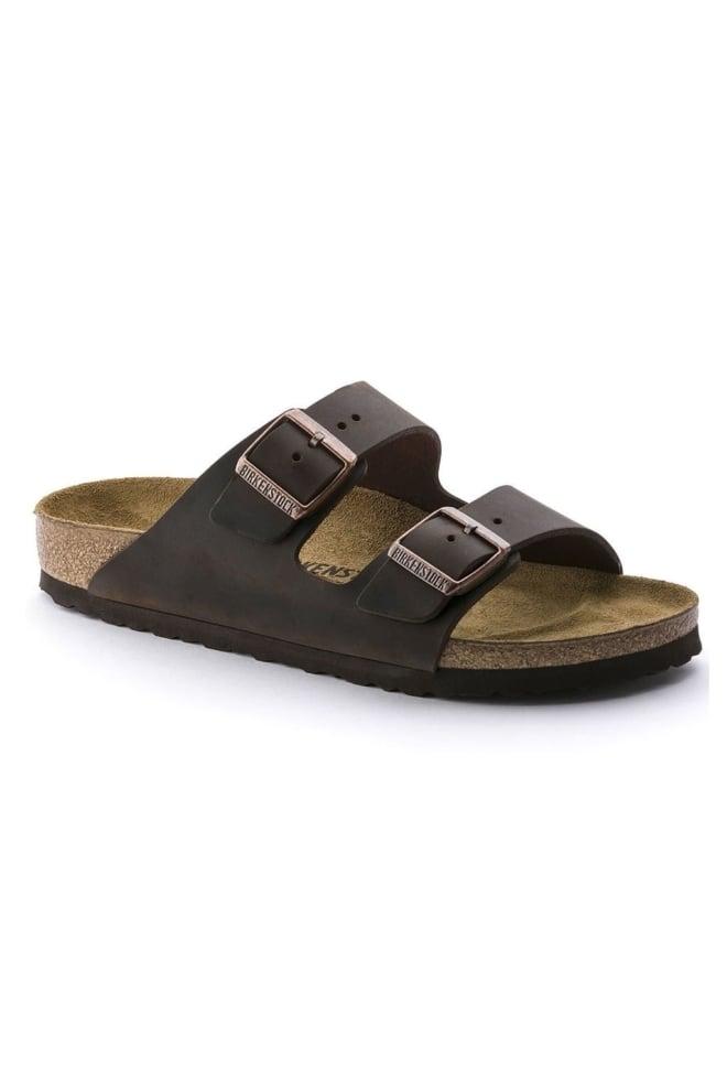 Birkenstock arizona sandalen smal donkerbruin - Birkenstock