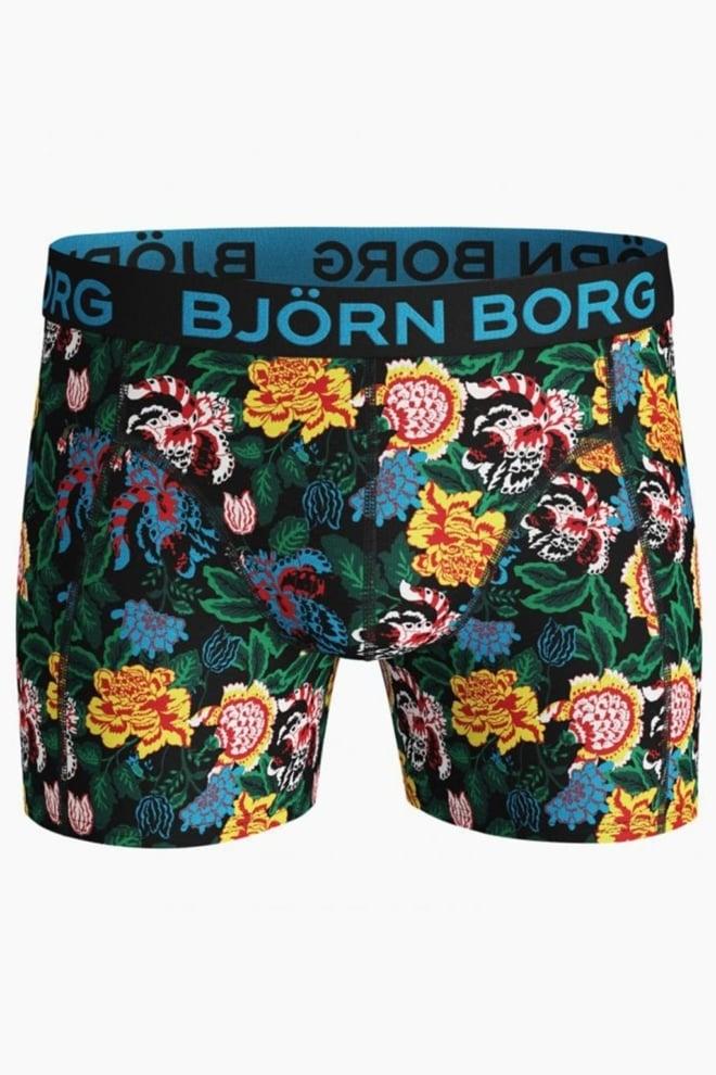 Bjorn borg strong flower 3-pack heren boxers - Björn Borg