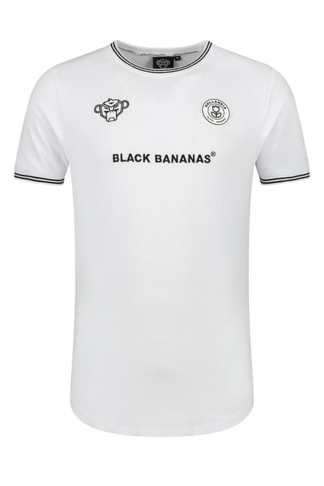 Black bananas fc muscle tee wit - Black Bananas