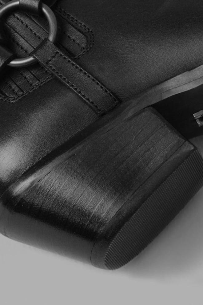 Bronx chapter six enkellaarzen zwart - Bronx Shoes