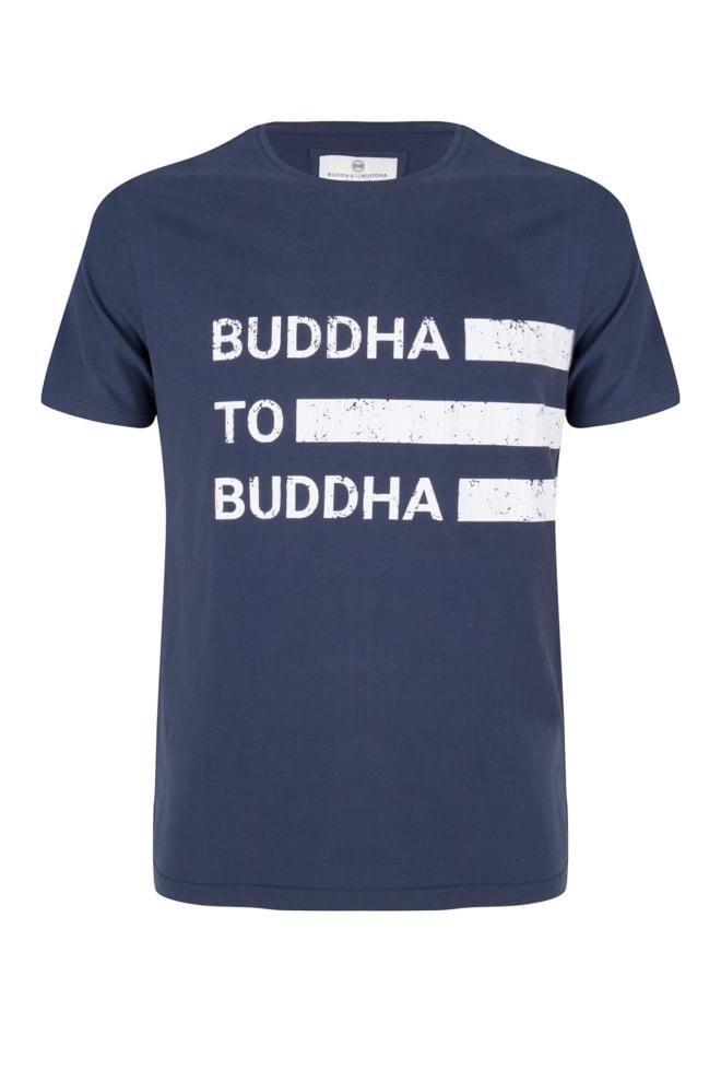 Buddha to buddha robert t-shirt navy - Buddha To Buddha