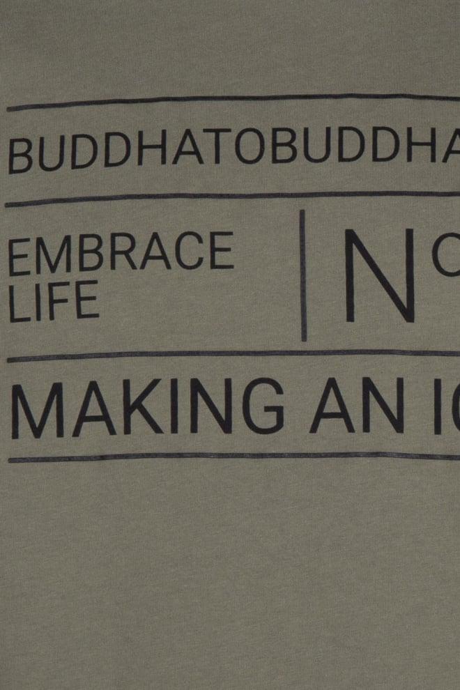 Buddha to buddha thames t-shirt groen - Buddha To Buddha